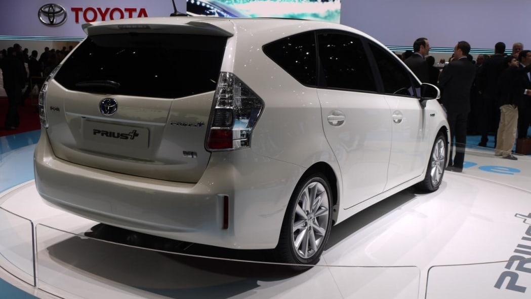 Toyota Prius+ MPV: Geneva 2011