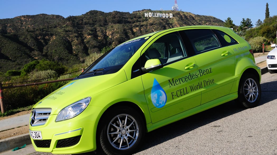 Mercedes-Benz F-Cell World Drive in the States