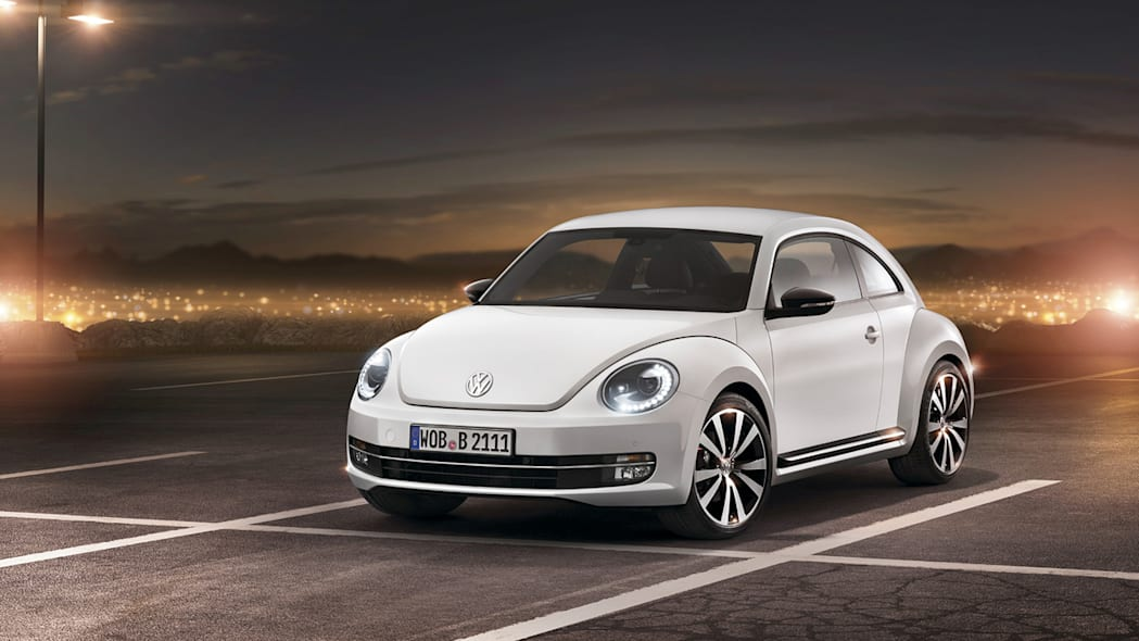2012 Volkswagen Beetle exterior in white