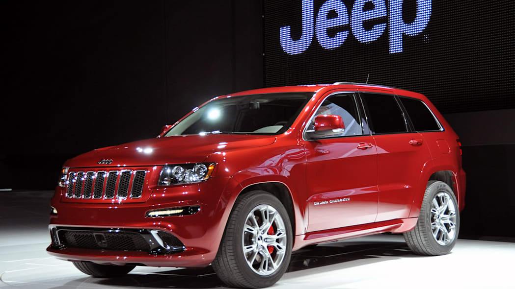 2012 Jeep Grand Cherokee SRT8 at the 2011 New York Auto Show