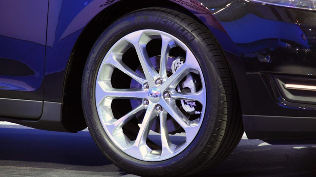2013 Ford Taurus's wheel at 2011 New York Auto Show