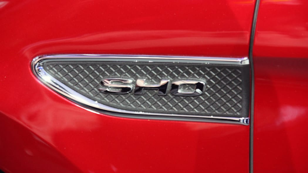 2013 Ford Taurus SHO fender vent at the 2011 New York Auto Show