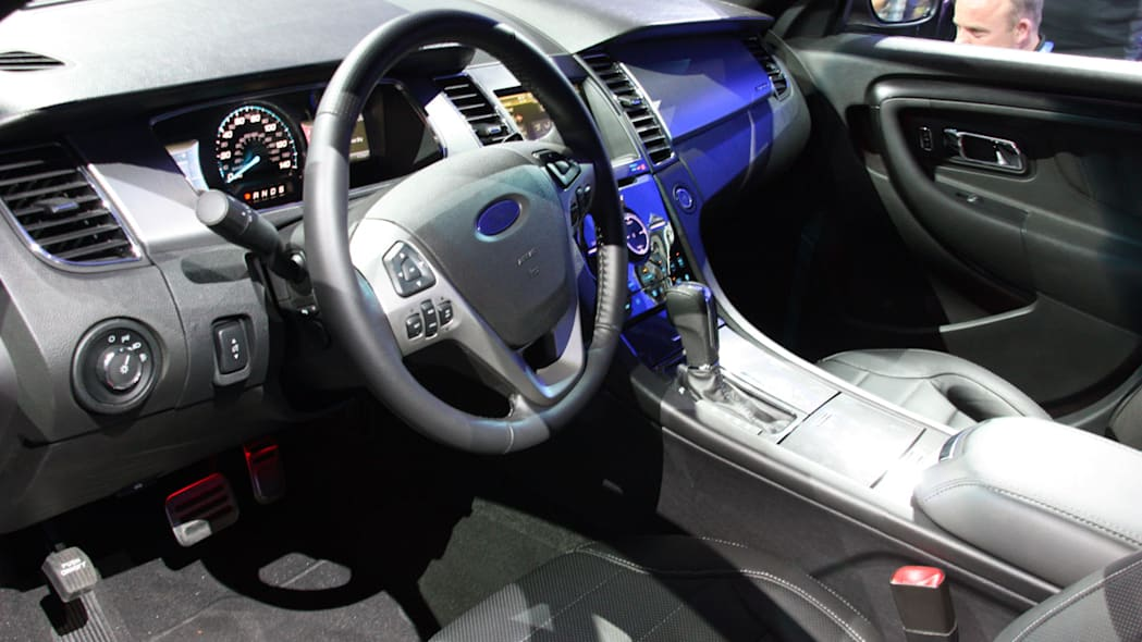 2013 Ford Taurus SHO interior at the 2011 New York Auto Show