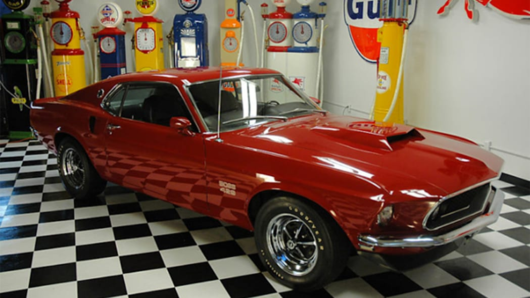 1969 Ford Mustang Boss 429 front side