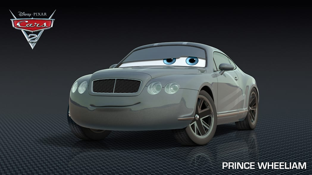 Prince William Cars 2 character
