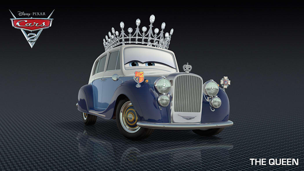 The Queen Cars 2 character