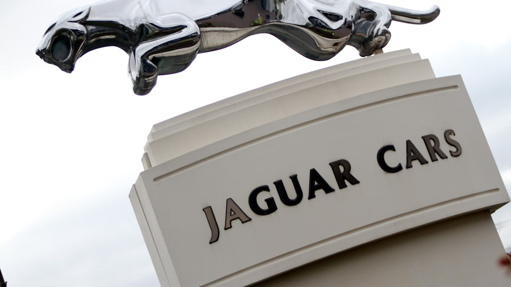 Scenes from Jaguar XJ production at Castle Bromwich