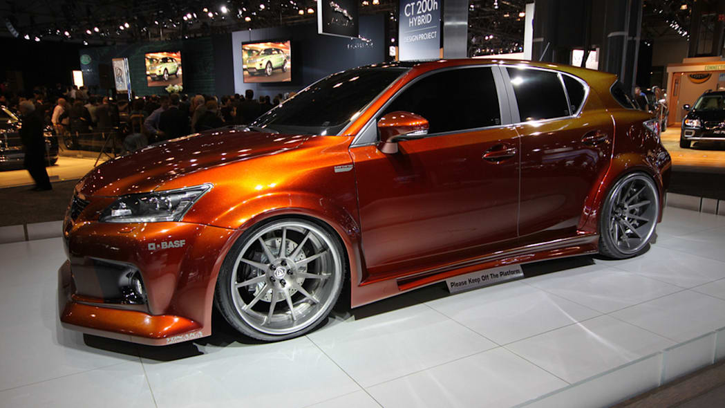 Fox Marketing Supercharged Lexus CT-200h front 3/4