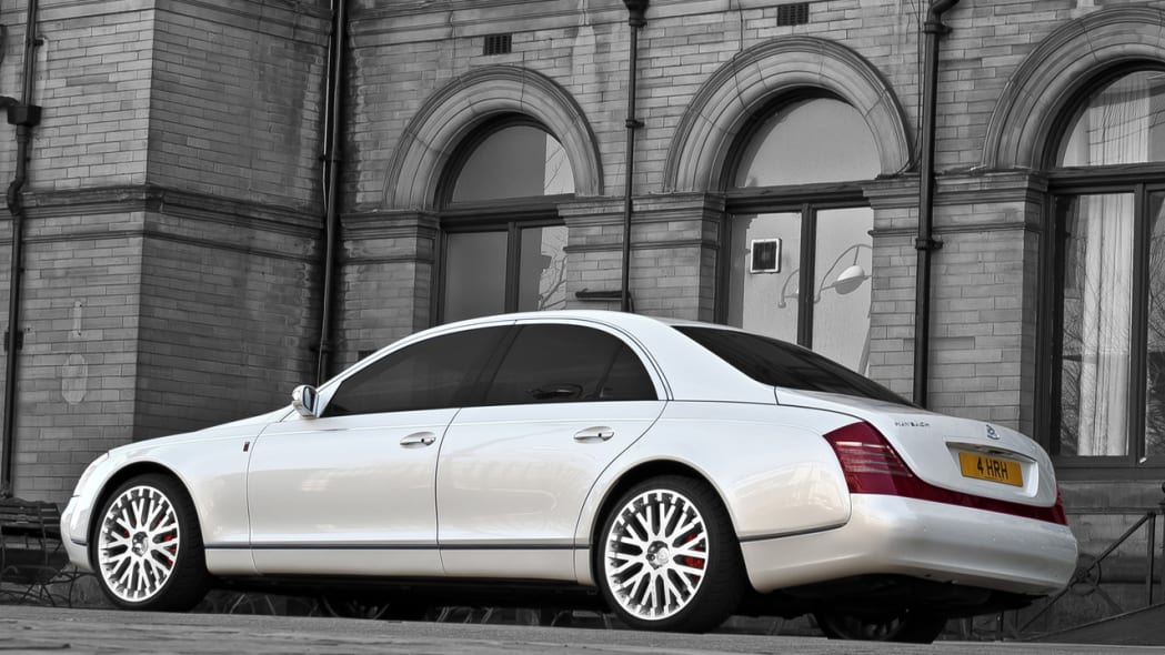 Project Kahn's Wedding Commemorative Maybach 57