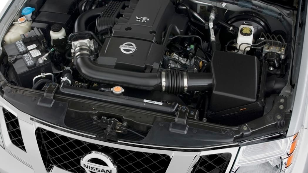2011 Nissan Pathfinder 4.0 V6 engine