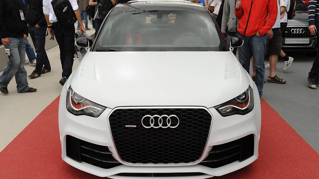 audi a1 clubsport quattro at le mans photo gallery autoblog. Black Bedroom Furniture Sets. Home Design Ideas