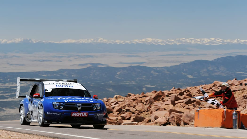 Dacia Duster Pikes Peak Special at the 2011 Pikes Peak Hill Climb