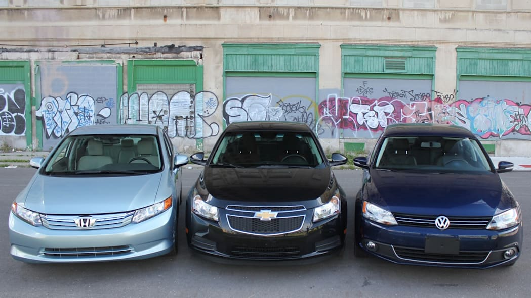 Battle of the Eco Compact Cars