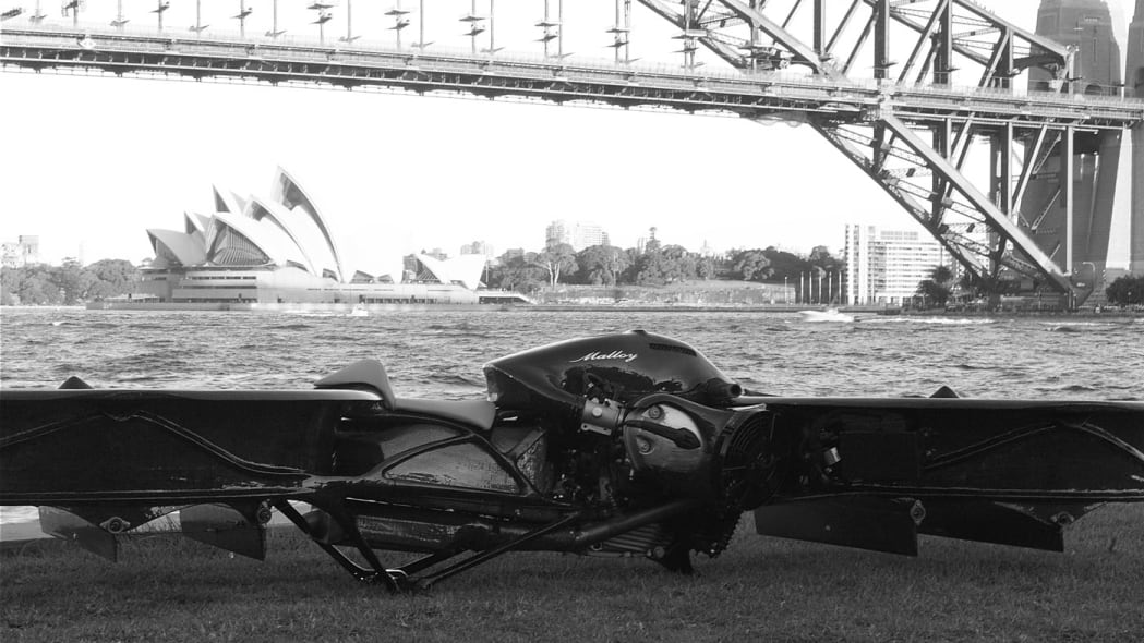 Hoverbike Concept