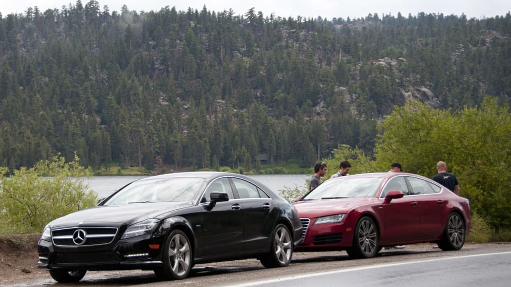 2012 Audi A7 3.0T vs 2012 Mercedes-Benz CLS550