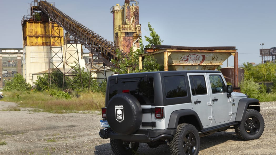 Call of Duty: MW3 Special Edition Jeep Wrangler