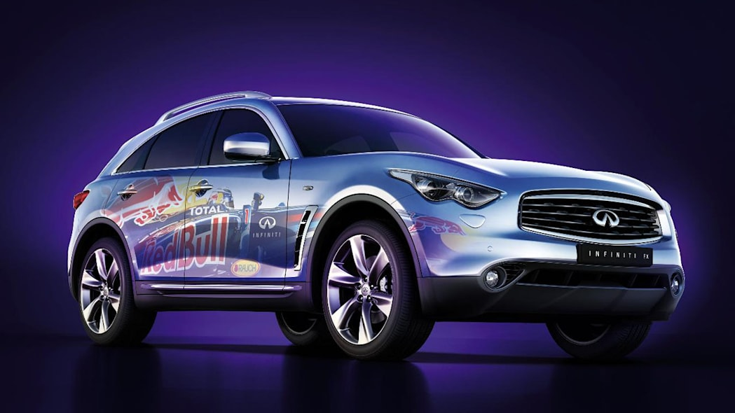 Infiniti FX with Red Bull wrap Photo Gallery - Autoblog