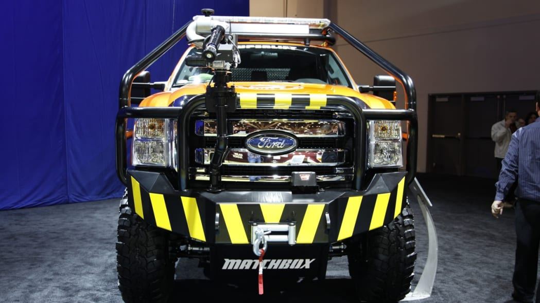 2011 Ford F-350 Matchbox Super Duty by Superlift Suspensions