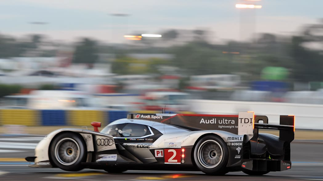 Audi R18 TDI at the 2011 24 Hours of Le Mans