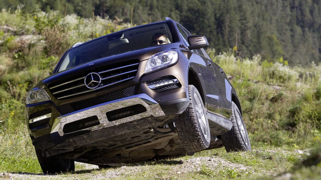 2012 Mercedes ML350 BlueTEC w/ On&Offroad Package