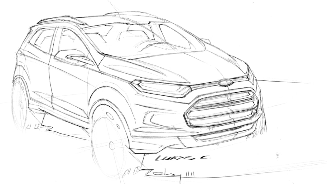 ford ecosport concept photo gallery