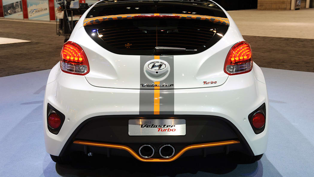 Hyundai Adds More Spunk To Veloster Turbo With Graphics