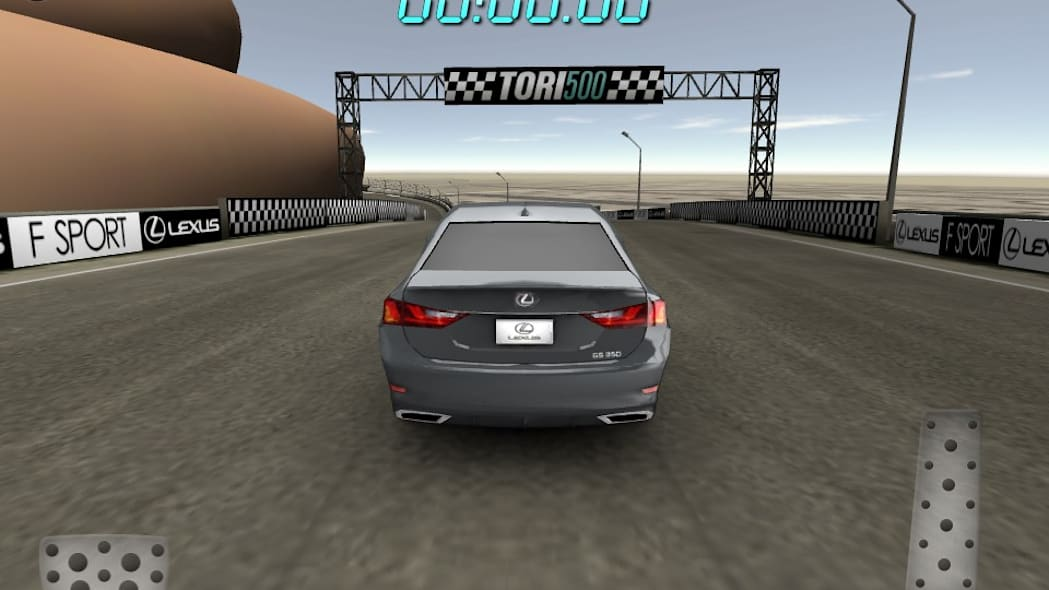 Lexus TORI 500 Racing Game App