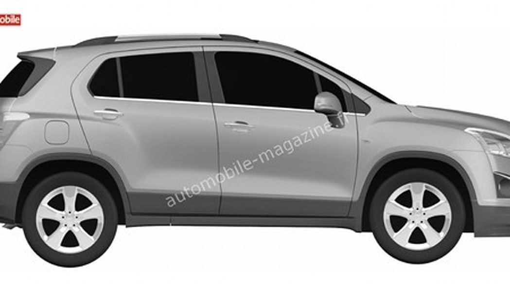 Chevrolet CUV patent drawings Photo Gallery | Autoblog