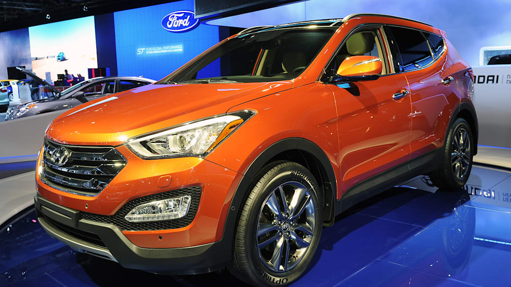 2013 Hyundai Santa Fe Goes On Big Diet Unveils Five And