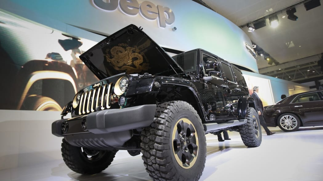 Jeep Wrangler Dragon Design Concept