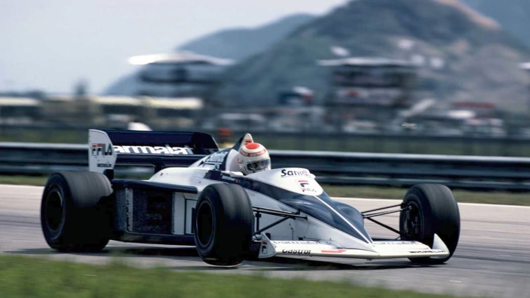 Nelson Piquet during the GP of Brazil, 1983 in the Brabham BMW BT 52