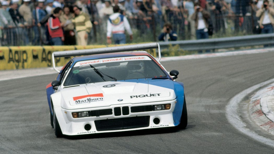 Nelson Piquet in the BMW M1 ProCar