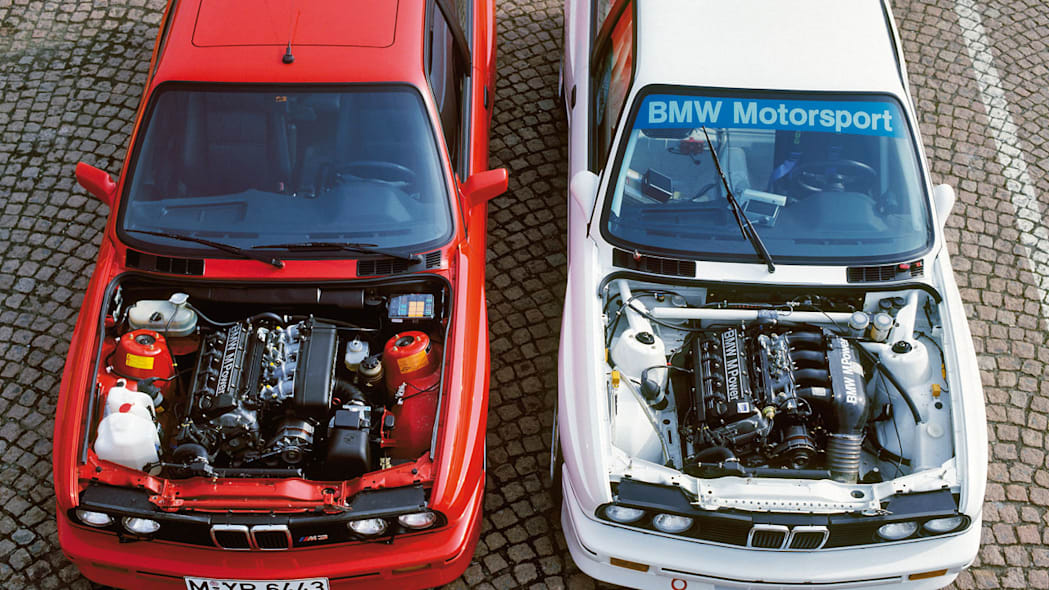 BMW M3 E30 street and race car 1987