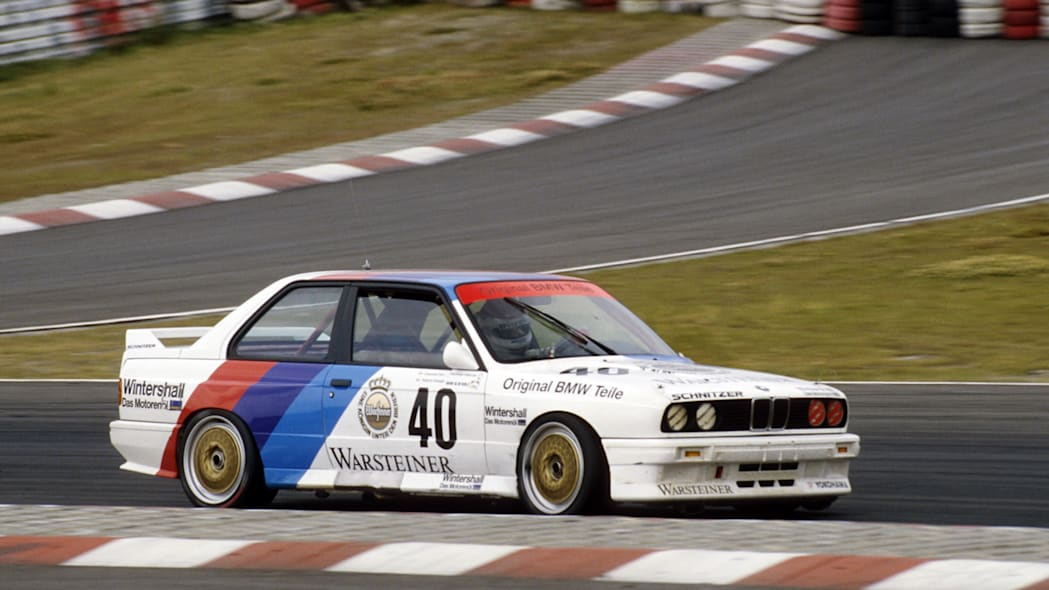 Touring car racing world championship 1987, Roberto Ravaglia in the BMW M3, 4th race N�rburgring