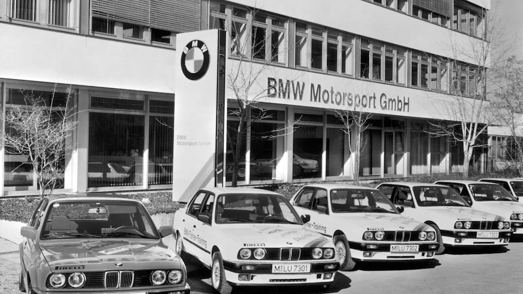 The building of BMW Motorsport GmbH, 1990