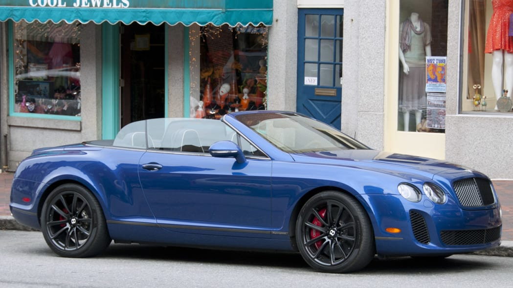 2012 Bentley Continental Supersports Convertible