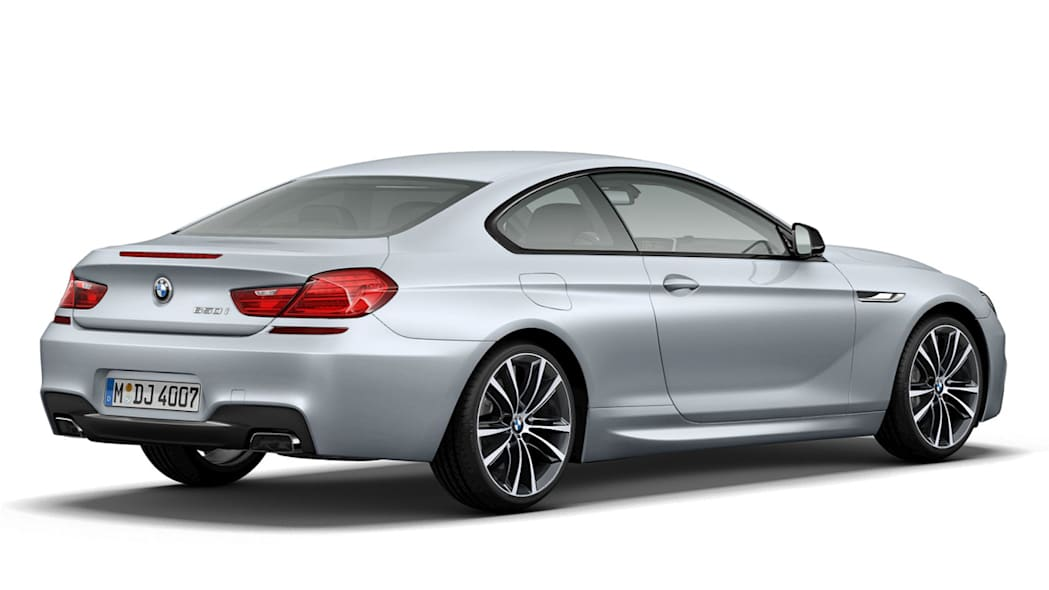 2013 BMW 650i Coupe Frozen Silver Edition