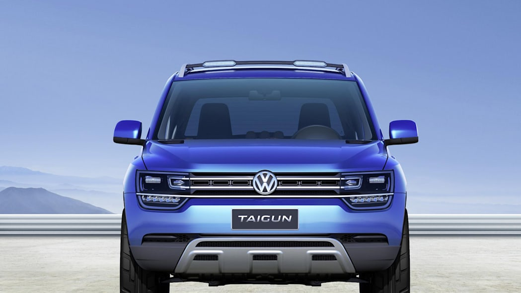 2012 Volkswagen Taigun Concept at the S�o Paulo motor show
