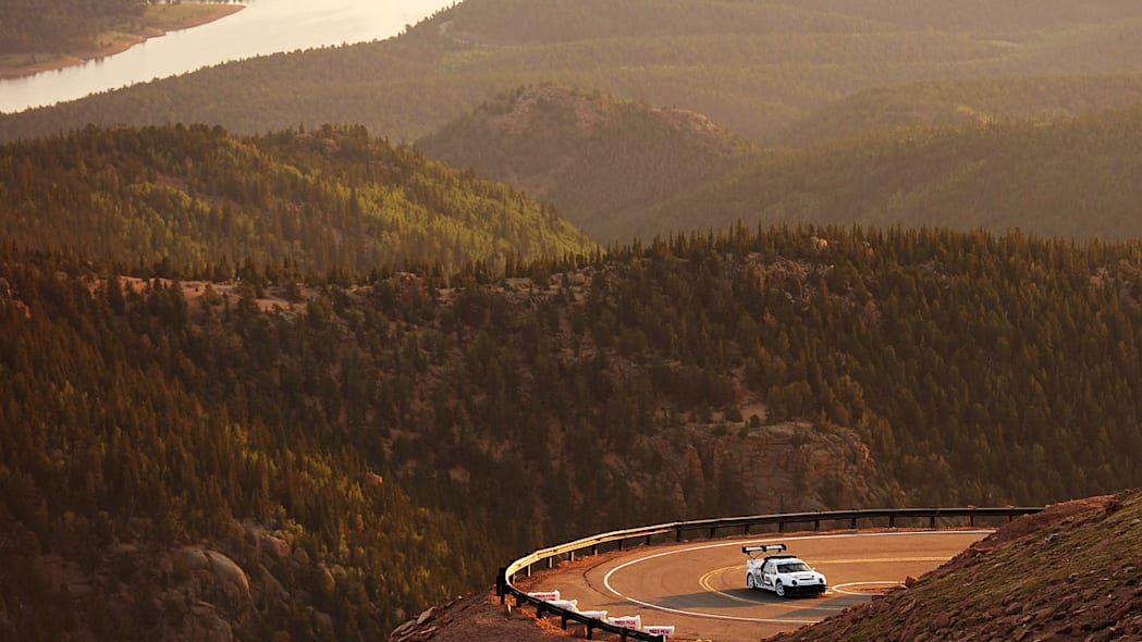 Ford RS200 at the Pikes Peak Hill Climb