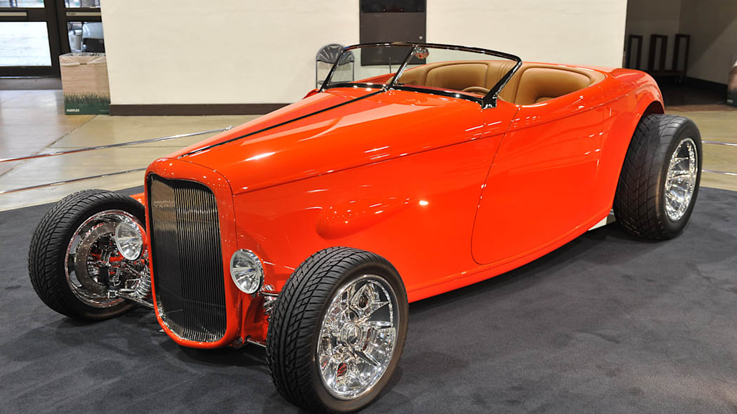 1932 Ford High Boy Roadster owned by Cole Wolfswinkel