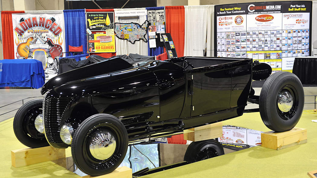 1928 Ford Roadster owned by John Gunsaulis