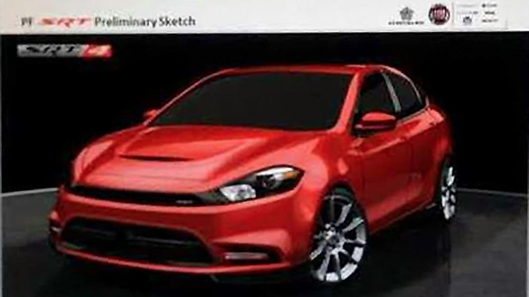 dodge dart srt4 sketch photo gallery  autoblog