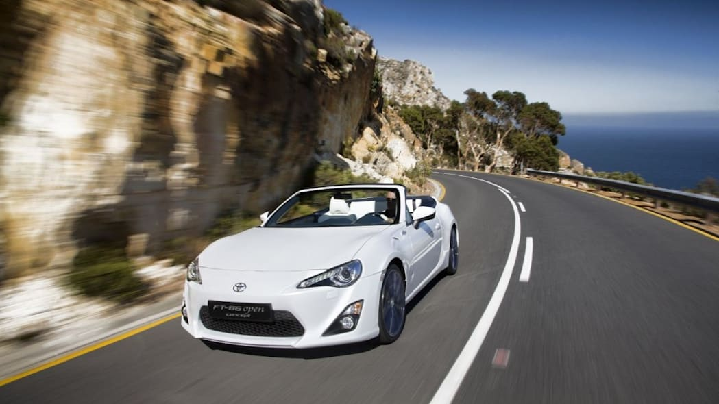 Toyota GT86 convertible on 'indefinite hold'