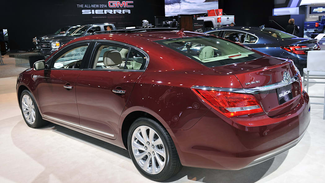 2014 Buick Lacrosse Steps Up To The Big Leagues With