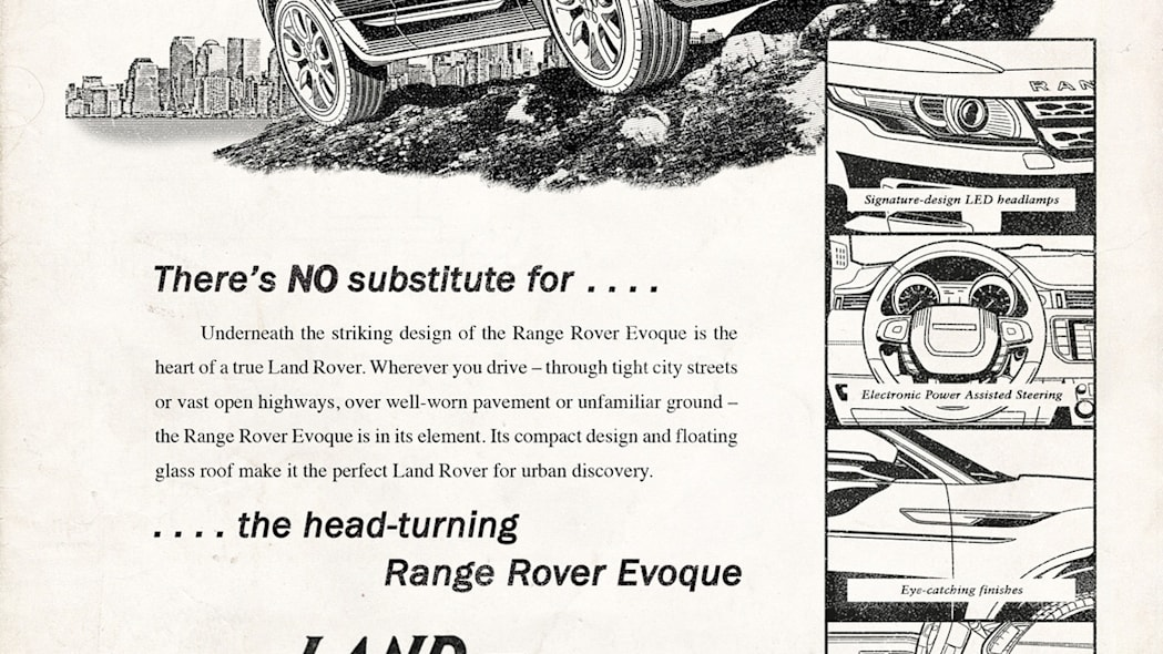 land rover celebrates 65 years with retro ads photo
