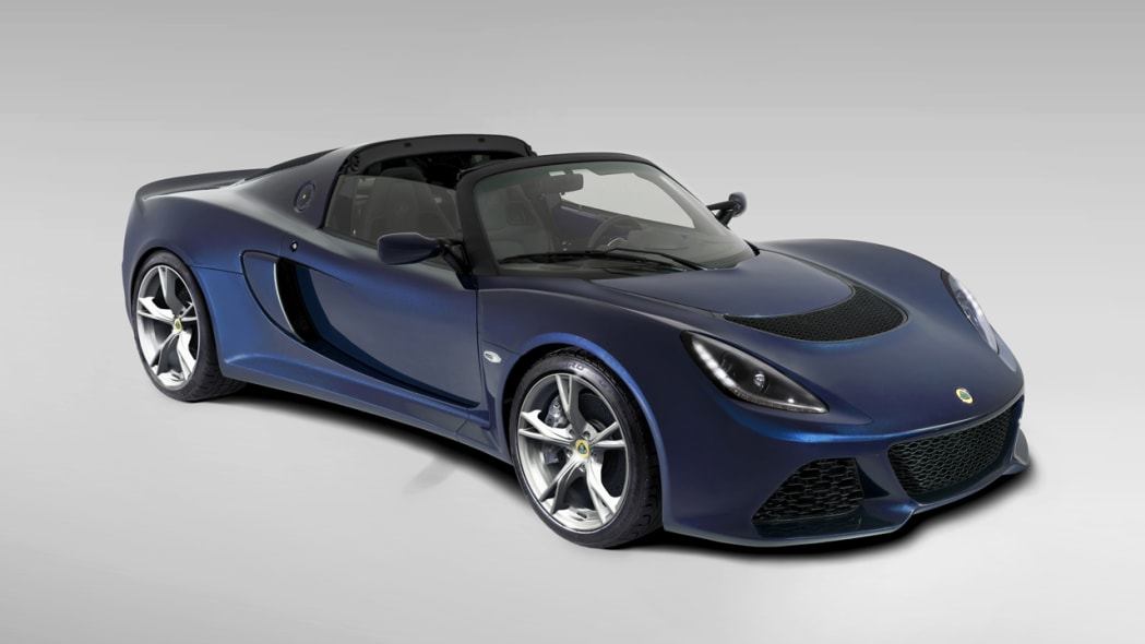 Lotus offers Exige S Roadster for sale, but not in North America