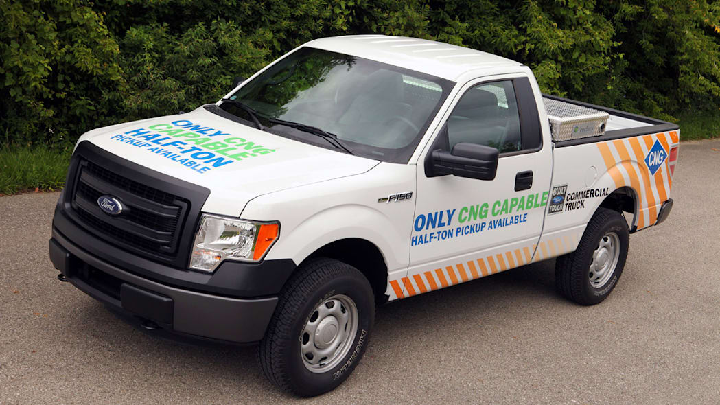2014 Ford F-150 CNG/LPG package