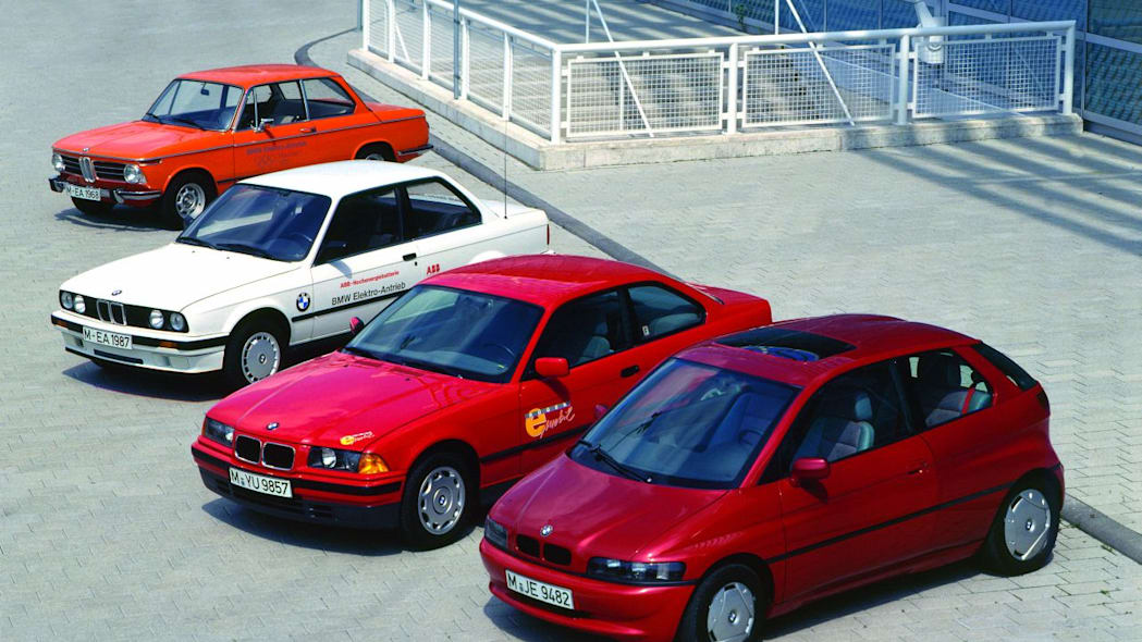 All BMW EV models throughout history