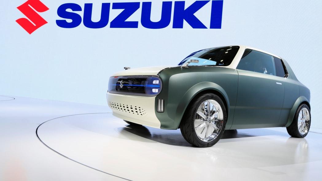 Suzuki's Waku SPO is displayed during the Tokyo Motor Show, in Tokyo, Japan October 23, 2019. REUTERS/Soe Zeya Tun