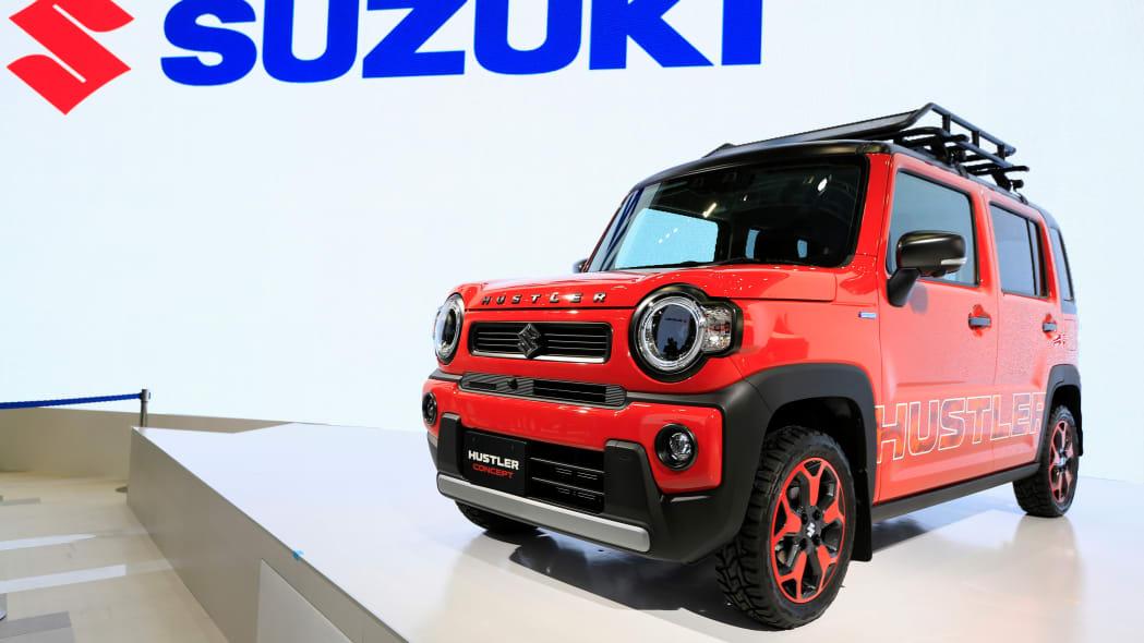 Suzuki's Hustler Concept car is displayed during the Tokyo Motor Show, in Tokyo, Japan October 23, 2019. REUTERS/Soe Zeya Tun